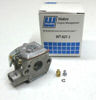 New OEM Walbro WT-827 / WT-827-1 CARBURETOR Carb for Ryan / Ryobi Trimmers