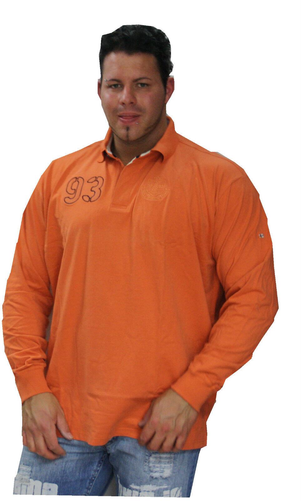 Xxl Übergrößen Herren wow Graustone Longsleeve wow Sweatshirt  4xl - 5xl
