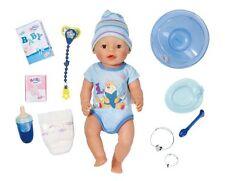 Zapf Baby born Interactive Puppe Junge 43cm Zubehör Badepuppe Babypuppe 822012