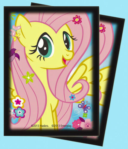 MY LITTLE PONY CARD DECK PROTECTOR SLEEVES SMALL 60ct FLUTTERSHY STOCK #84219