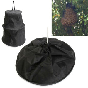 Black-Bee-Cage-Swarm-Trap-Swarming-Catcher-Beekeeping-Beekeeper-TooHT-ME