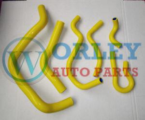 Yellow-silicone-radiator-hose-kit-for-HONDA-CIVIC-Type-R-DC2-EK4-EK9-B16A-B16B