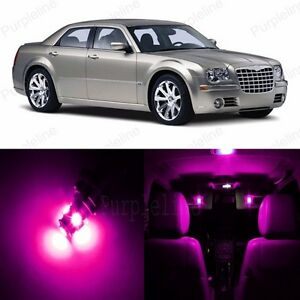 Details About 14 X Pink Led Interior Light Package For 2005 2010 Chrysler 300 300c Tool