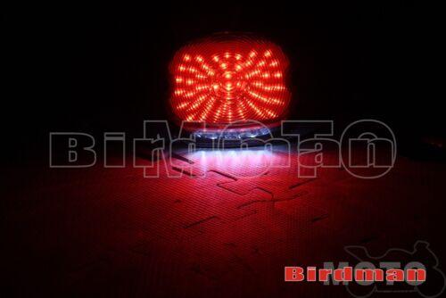 Arrière DEL Feu Arrière Lampe De Frein Pour Harley Road King Electra Glide TOURING DYNA