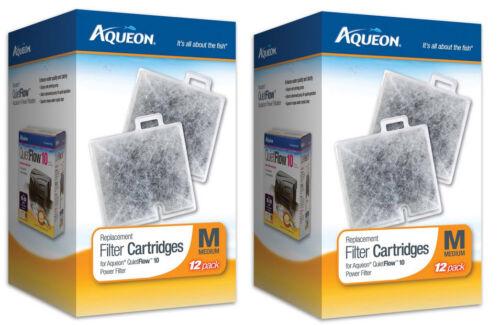 AQUEON FILTER CARTRIDGE MEDIUM 24PK FOR QUIET FLOW 10 FILTER