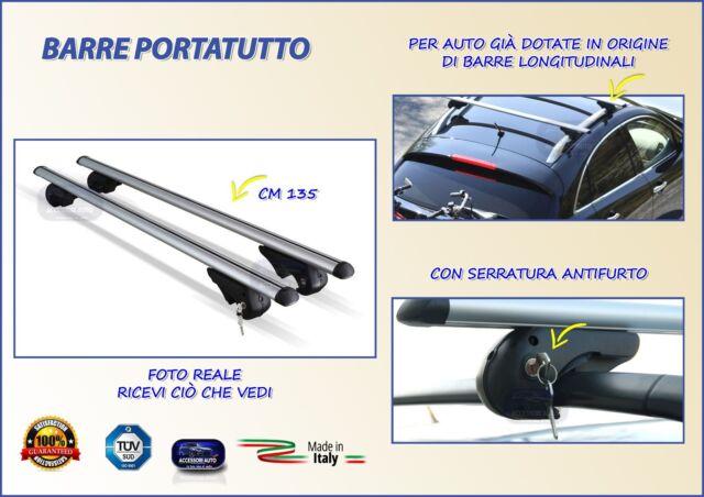 BARRE Portatutto K39 Portabagagli Portapacchi Subaru Forester dal 2008 in poi