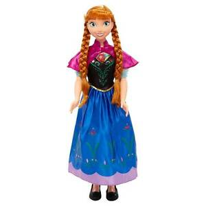Disney-Princess-ANNA-Frozen-MY-SIZE-DOLL-38-034-3-feet-tall-Jakks-Exclusive-NEW