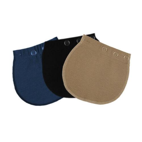3PCS Women Pregnancy Mom Waist Band Belt Extender Adjustable Pants Accessory Set