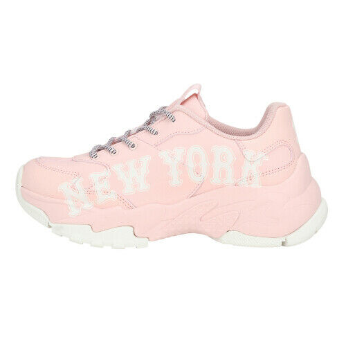New MLB New York Yankees shoes Pink Women Fashion 32SHC291150B Big Ball Chunky A