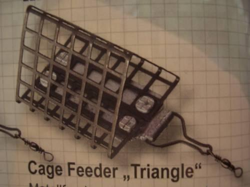 "30 g Cage Feeder /""Triangle/"" 44 mm CORMORAN Futterkorb"