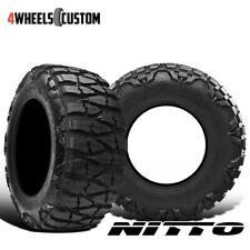 2 X New Nitto Mud Grappler X Terra 35125r17 125p Mud Terrain Tire