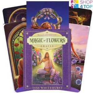 Magic-Of-Flowers-Oracle-Cards-Deck-Tess-Whitehurst-Llewellyn-New