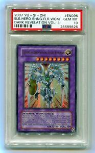 2007 Yu-Gi-Oh Elemental Hero Shining Flare Wingman DR04 ...Elemental Hero Shining Flare Wingman Deck