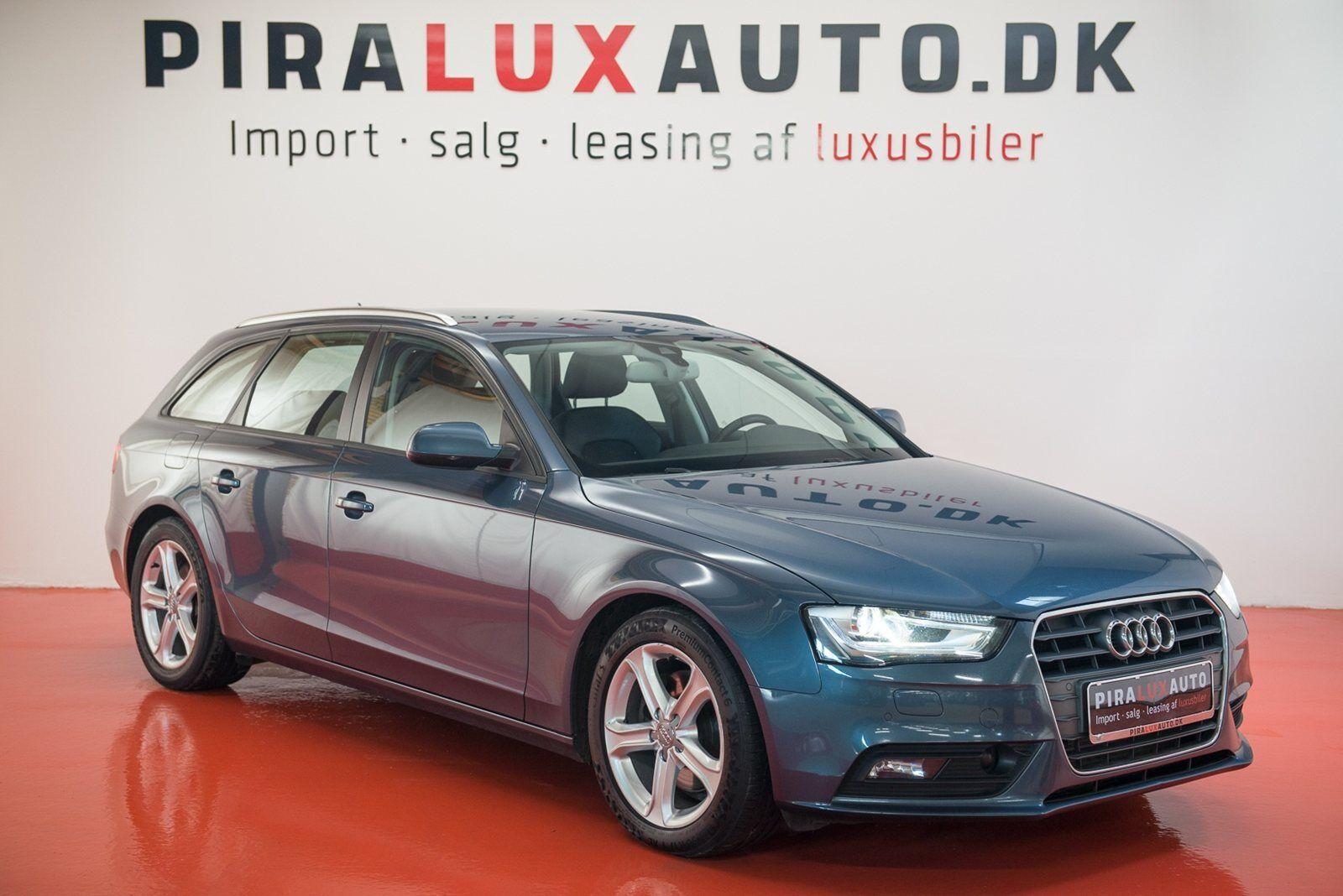 Audi A4 2,0 TDi 150 Avant Multitr. 5d - 263.900 kr.