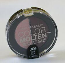 New Maybelline Color Molten Eye Studio Duo Eye Shadow-306 Rose Haze