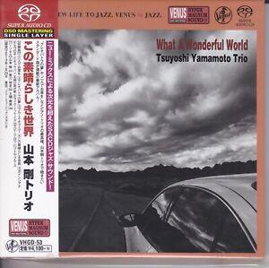 034-Tsuyoshi-Yamamoto-Trio-What-A-Wonderful-World-034-Japan-Venus-Records-SACD-New