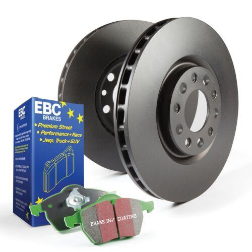 EBC Brakes S14KF1211 S14 Kits Greenstuff and RK Rotors SUV Fits MDX Pilot ZDX