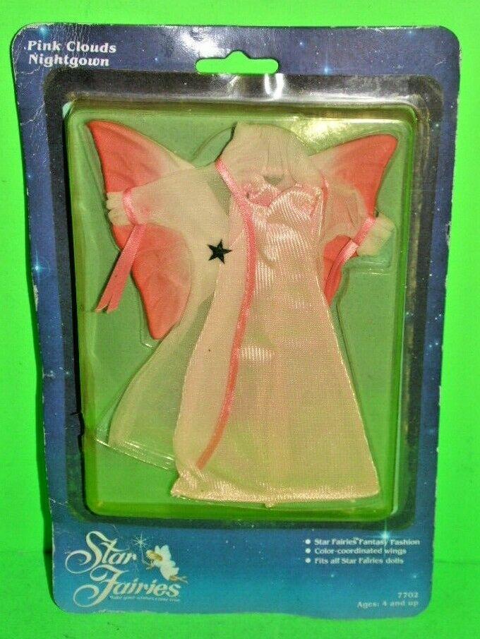 NRFC Vintage 1985 Tonka Star Fairies Fairies Fairies Rosa Clouds Nightgown  7702 FLOWER FAIRIES b9bd85