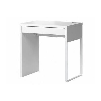 reputable site 5532f cbc13 Ikea Micke Desk - Computer Student Work Study Desk White New | eBay