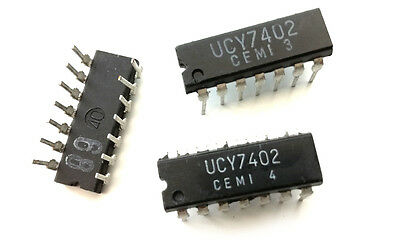 SN7402N QUADRUPLE 2-INPUT POSITIVE-NOR GATES DIP14