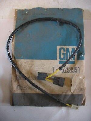 details about nos 1968 68 chevy nova camaro chevelle anti dieseling solenoid  wire 6298951