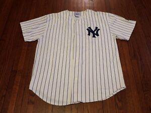 new concept 142dd 3b18a Details about VTG 80's Starter MLB New York Yankees Reggie Jackson Baseball  Jersey sz XL