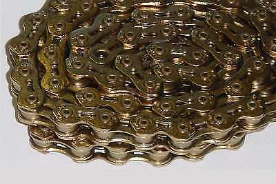 KMC K710SL SuperLite Ti-N GOLD Bicycle Chain BMX Fixed