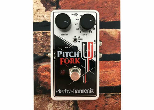 Electro-Harmonix Pitch Fork Polyphonic Pitch Shifter FREE 2 DAY SHIP Used