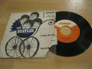 7-034-Single-The-Beatles-It-Won-039-t-be-long-Vinyl-AMIGA-DDR-4-50-493-RAR