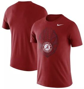 san francisco 5d9b4 20576 Details about Nike Men's Alabama Crimson Tide Dri Fit Football Icon Jersey  Shirt XL Roll Tide