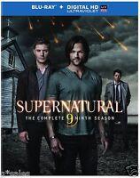 Supernatural Complete Ninth Season 9 Nine 4-disc Blu-ray & Digital Copy