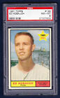 1961 TOPPS #129 ED HOBAUGH RC PSA 8 NM-MT  BASEBALL CARD