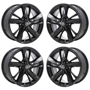Image Is Loading 17 034 Fits Nissan Altima Black Wheels Rims