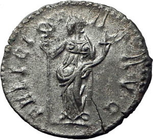 POSTUMUS-260AD-Silver-Authentic-Ancient-Roman-Coin-Felicitas-GOOD-LUCK-i65349
