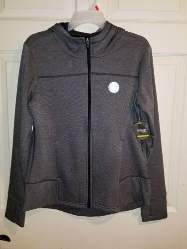 Womens Hoodie Full Zip Up Hoodie Zipper Sweatshirt Jacket Fleece Comfy XLarge XL