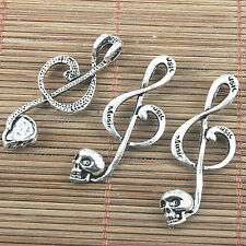 33mm Tibetan Silver Fork Charms Jewellery Dinner Cutlery Lunch H150 10 Pcs