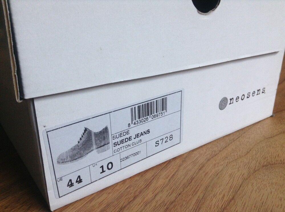 Neosens COTTON CLUB  S728  Größe 44/10  Farbe Suede Jeans  Neu im Karton