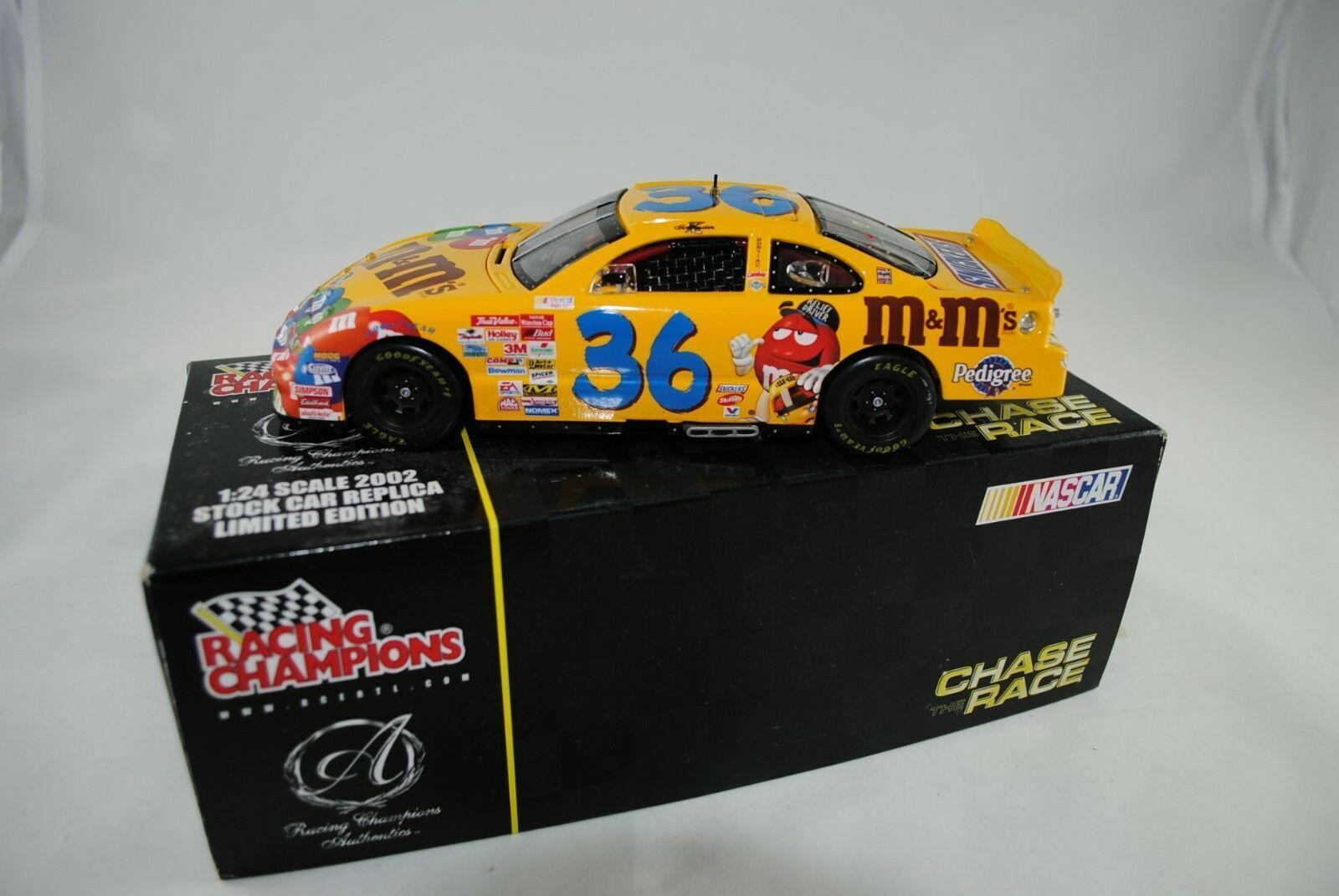 1 24 Ertl Rc Pontiac Grand Prix Ken Schrader '36 M & MS 2002