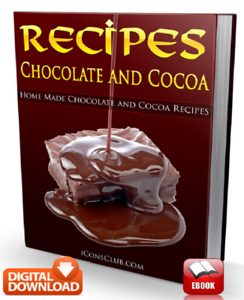 Chocolate And Cocoa Recipes Cookbook– Favorite Family Dishes /&Delicious Cooking