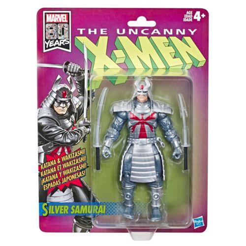 2019-HASBRO Action Figure environ 15.24 cm MARVEL 80 ans Les étranges X-men Silver Samurai 6 in