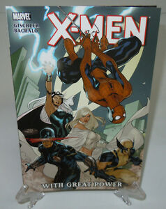 X-Men-With-Great-Power-Spider-Man-Storm-Marvel-Comics-TPB-Trade-Paperback-New