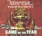 Unreal Tournament: Game of the Year Edition Jewel Case (PC, 2002)