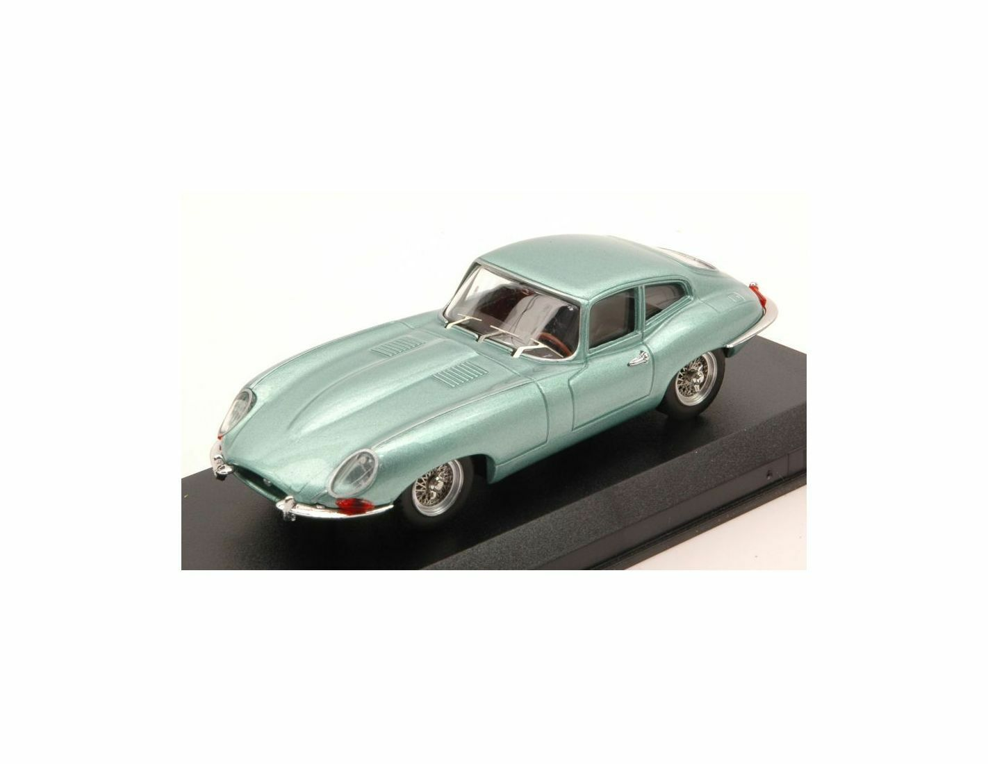 Best Model BT9626 JAGUAR E COUPE' 1961 LIGHT verde MET.1 43 Modellino