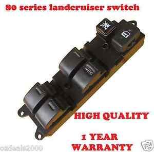 300 Series Toyota Landcruiser >> Master Power Electric Main Window Switch fits TOYOTA 80 Series LANDCRUISER 90-98 | eBay