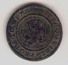 Cincin19,Precioso y raro 4 Mrvds VALENCIA Felipe V,1718