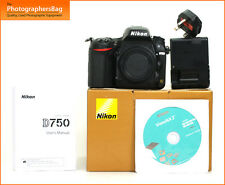Nikon D750 Digital 24MP SLR Camera Body Battery Charger  Free UK PP