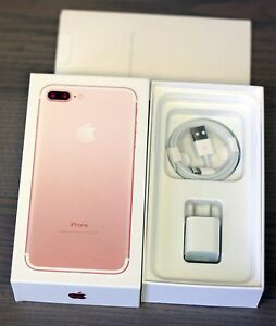 Image Is Loading IPHONE 7 PLUS ROSE GOLD EMPTY RETAIL