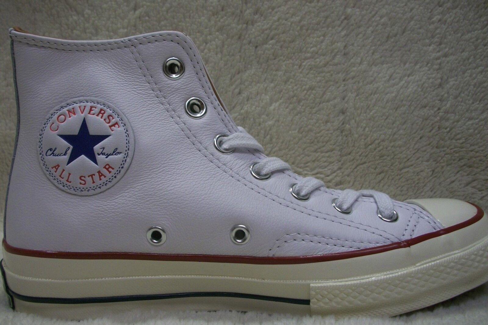 Converse CTAS Hi 1970 151154C White Leather Mens 5 - Womens 7