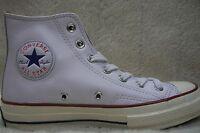 Converse Ctas Hi 1970 151154c White Leather Mens 9 - Womens 11