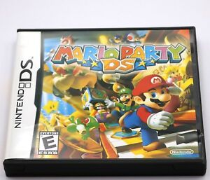Mario-Party-DS-Wario-Luigi-Nintendo-DS-Game-NDS-Lite-DSi-2DS-3DS-XL-a-F01